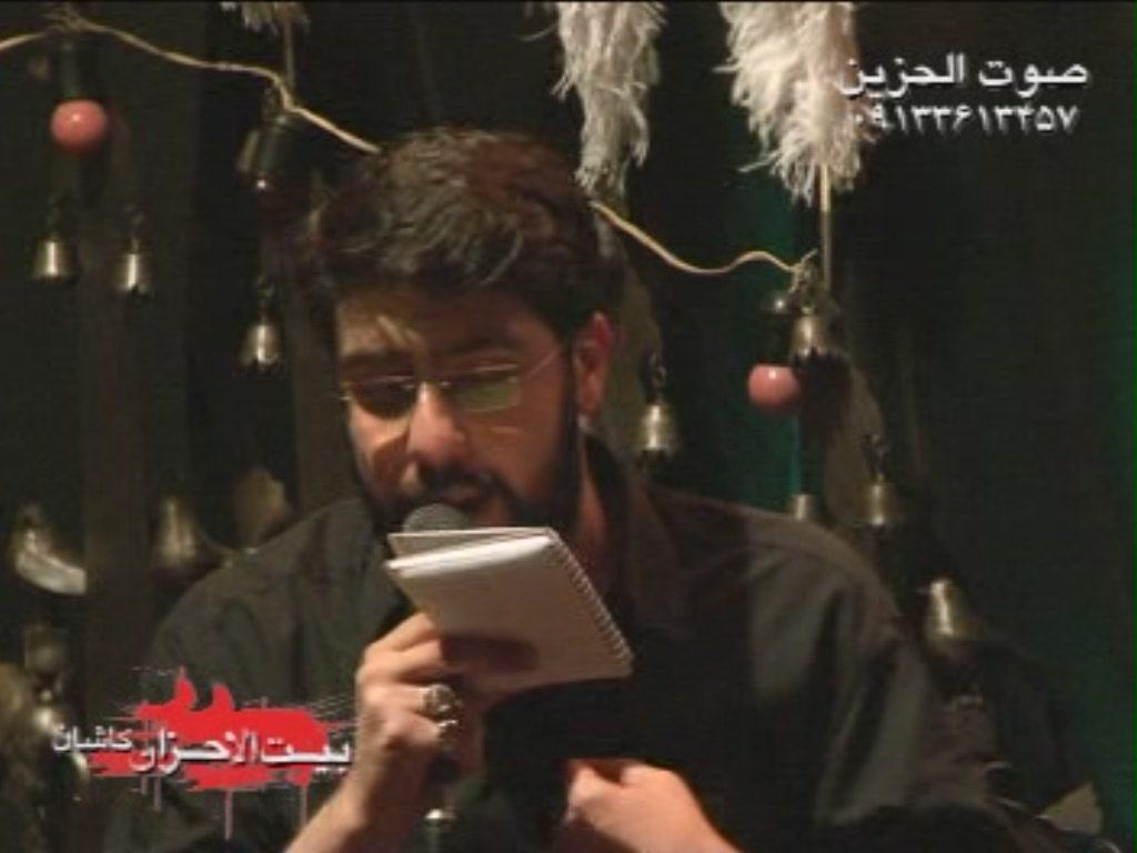 حاج احمد واعظي - سعيد قانع - فاطميه 90 -  بيت الاحزان كاشان